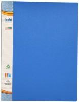 Solo 60 Pockets Polypropylene Display File (Set Of 1, Blue)
