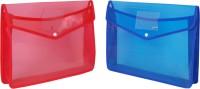 Aahum Sales Polypropylene File Folder Set Of 2 (Set Of 2, Multicolor)