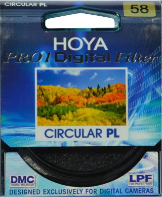 Buy Hoya 58 mm Pro1 Digital Circular Polarizer Polarizing Filter (CPL): Filter