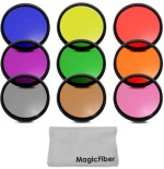 Goja 67Mm Complete Full Color Lens Filter Set For Canon