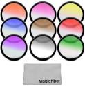 Goja 67Mm Complete Graduated Color Lens Filter Set For Canon Color Graduated Filter (67 Mm)