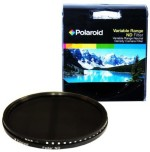 Polaroid Optics 77Mm Hd Multi Coated Variable Range Neutral Density Fader Filter Black