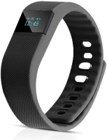 Quace TW64 Health Waterproof Fitness Band (Black, Pack Of 1)