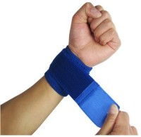 DPEnterprise Wrist Velcro Fitness Band (Blue, Pack Of 2)