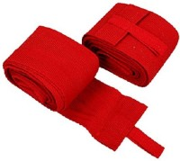 Mor Sporting Hand Wrist Wrap Grip Fitness Band (Red)