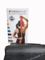 TheraBand Latex Free Resistance Band (Black)
