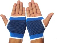 New Life Enterprise Elastic Palm Wrist Support Grip Protection For Healing/sports Set Fitness Band (Blue, Pack Of 2)