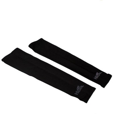 Gee Power Hi Cool Sunlight UV Protection Arm Sleeves Fitness Band (Black, Pack Of 1)