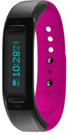 Soleus Go Activity Tracker Fitness Band - Black, Pink, Pack Of 1