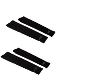 Gee Power Hi Cool Sunlight UV Protection Arm Sleeves (Set Of 2 Pairs) Fitness Band (Black, Pack Of 2)