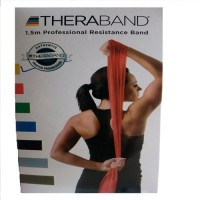TheraBand Latex Free Resistance Band (Yellow)