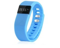 Quace TW64 Health Waterproof Fitness Band (Blue, Pack Of 1)
