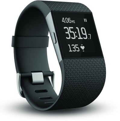 Fitbit Surge Ultimate Fitness Super Watch, Large Fitness Band (Black, Pack Of 1)