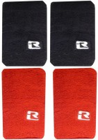 R-Lon Wrist Combination Fitness Band (Black, Red, Pack Of 4)