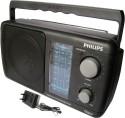 Philips DL-225 With Inbuilt-Rechargeable Battery FM Radio (Black)
