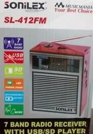 Sonilex SL-412 FM Radio