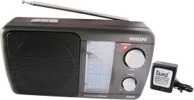 Philips USB (MP3-Media) / Player With Inbuilt-Rechargeable Battery and AC Adapter FM Radio