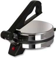 Kitchen Pro Stainless Steel Roti/Khakhra Maker (Black)