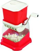 JK Vegetable Chopper Jali ABS Food Slicer (Red)