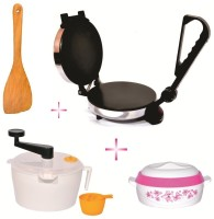 Matangi Steel Roti/Khakhra Maker (Black)