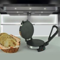 Airex Chapati Maker Roti/Khakhra Maker (Silver)