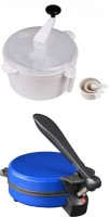 ECO SHOPEE COMBO OF NATIONAL DETACHABLE BLUE Roti- MAKER WITH DOUGH MAKER Roti/Khakhra Maker (Blue)
