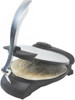 Chef Pro 255MM Jumbo Roti/Khakhra Maker (Stainless Steel, Black)