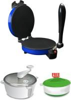 Spice Maxx Spice Maxx Roti Maker Roti/Khakhra Maker (Blue, Red, Cheery, Silver)