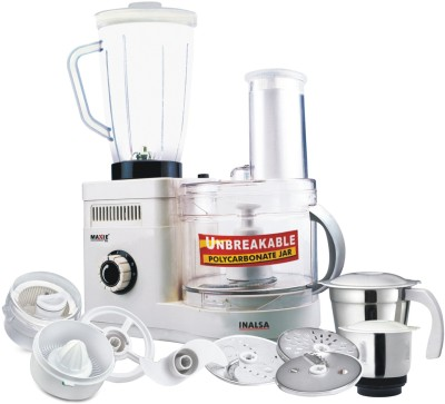 Buy Inalsa Maxie Deluxe 600 W Food Processor: Food Processor
