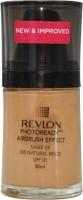 Revlon Photo Ready Air Brush Effect Make Up Spf 20 Natural Beige Foundation (Natural Beige)