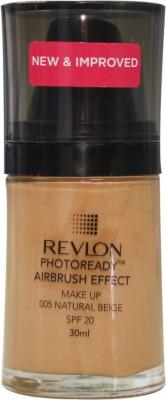 Revlon Natural Beige Foundation (Nude)
