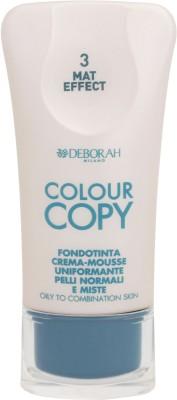 Deborah Colour Copy Foundation Oily to Combination Skin Foundation Shade - 3