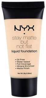 NYX Foundations NYX stay matte but not flat Foundation