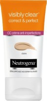 Neutrogena Visibly Clear Correct & Perfect Cc Cream(made In France) Foundation (claire, Fair)