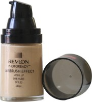 Revlon Photo Ready Air Brush Effect Make Up Spf 20 - Nude Foundation (Nude)