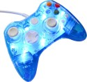 New World LED Light Wired Controller Remote Joystic  Gamepad (Blue, For Xbox 360, PC)