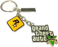 Al Pacino Gta 5 Rock Star Key Chain Key Chain (Yellow)