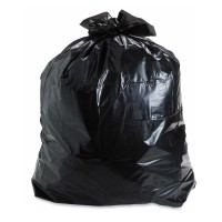 A1 Black Garbage Bags Dust Trash Extra Large (29*39) 200 200 L Garbage Bag (Pack Of 20)