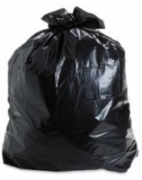Bigo Black Bin Liner L Size 24 X 30 Inches (5x10 = 50 Bags In 5 Packets) Large 11 L Garbage Bag (Pack Of 10)