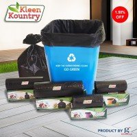 KLEEN KOUNTRY 4 EXTRA LARGE 80-100 L Garbage Bag (Pack Of 90)