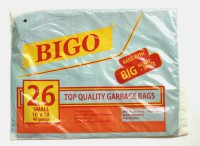 Bigo Black Bin Liner S Size 15 X 18 Inches (2x26 = 52 Bags In 2 Packets) Small 4 L Garbage Bag (Pack Of 26)