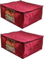 Ombags&More Wedding Saree Cover Set Of 2 Covers08 Maroon