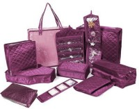 Addyz 11pcs Marriage Set Utility Vanity Multi Purpose (Purple)