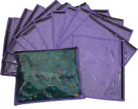 Ombags&More Basic Regular Single Saree Cover Pack Of 12 Bags&More204 Purple