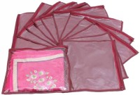 Ombags&More Single Saree Cover Pack Of 12 Bags&more203 Maroon