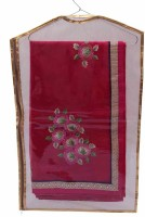 Kuber Industries Designer Hanging Designer Saree Cover - 6pcs MKU024 Maroon