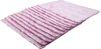 Angel Quilts Saree Cover Set Of 12 Pcs Angqui-13 Pink