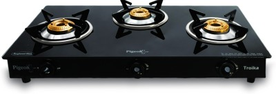 Troika Gas Cooktop (3 Burner)