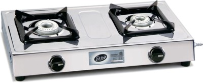 GL-1020 SS AL 2 Burner Gas Cooktop
