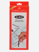 Faber-Castell GR8 Geometry Box Red